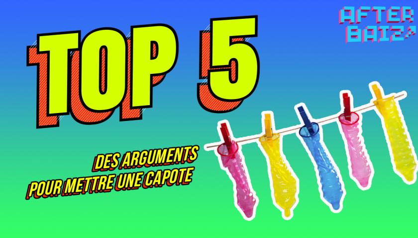 TOP 5 des arguments pour mettre une capote