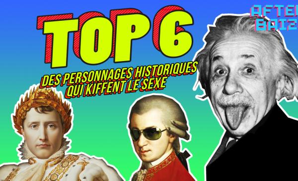 TOP 6 des personnages historiques qui kiffent le sexe