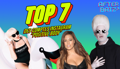 "Top 7 des comptes Instagram ""Positive Body"""