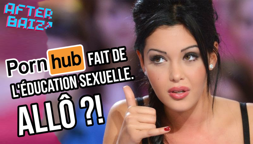 Pornhub se lance dans l'éducation sexuelle : WTF ???