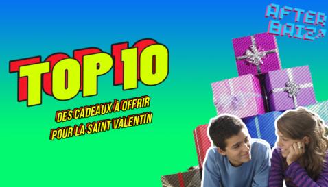 Top 10 des cadeaux à offrir pour la Saint-Valentin