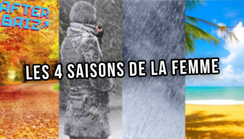 Les 4 saisons de la femme : le cycle mensturel