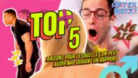 Top 5 des choses qui peuvent faire mal aux mecs durant un rapport