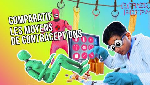 Comparatif des différents moyens de contraception